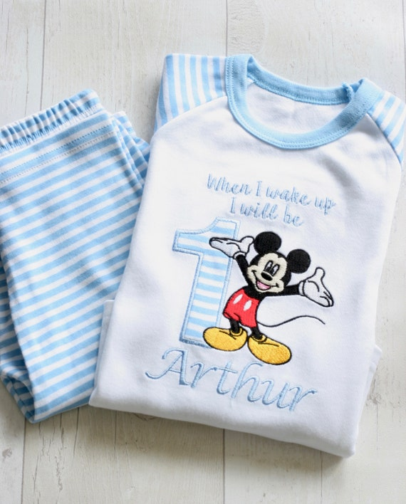 Personalised One Balloons Birthday Shorts Pyjamas First Birthday Personalised Name Pjs Girls Personalised Pyjamas