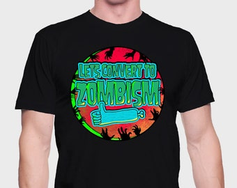 Zombi - Zombie T-Shirt - Zombie Shirt - Zombie Tee - Dawn Of The Dead Tee - Dawn Of The Dead Shirt - T-Shirt for Zombies - Shopping Mall Tee