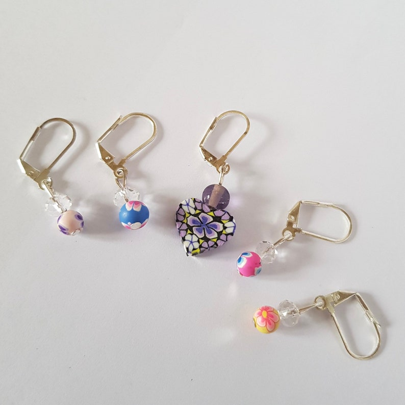Crochet Gifts Stitch Marker Set Gifts for Knitters Rainbow Flower Knitting Accessories