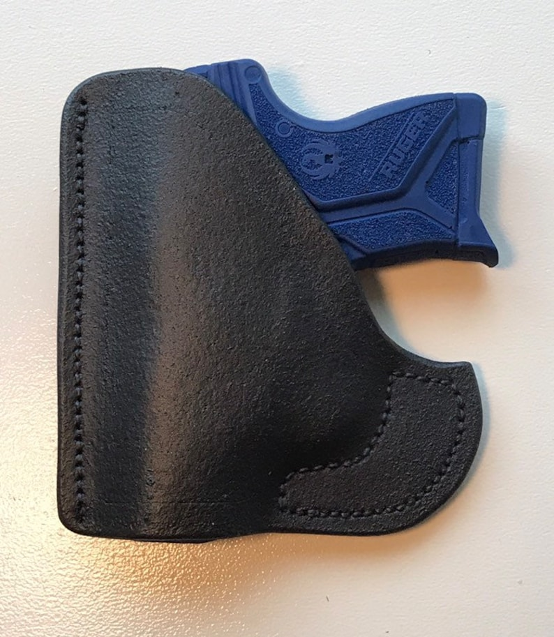Rubberized Leather Ruger LCP 2 Pocket Holster