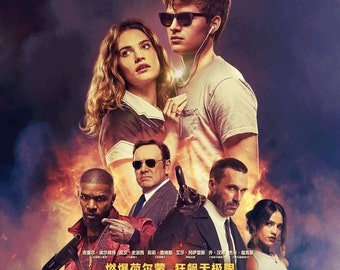FREE P+P CHOOSE YOUR SIZE Baby Driver Poster Movie New 2017 Film Spacey Import