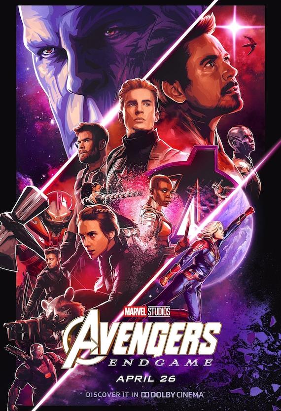 Resultado de imagen para avengers endgame poster