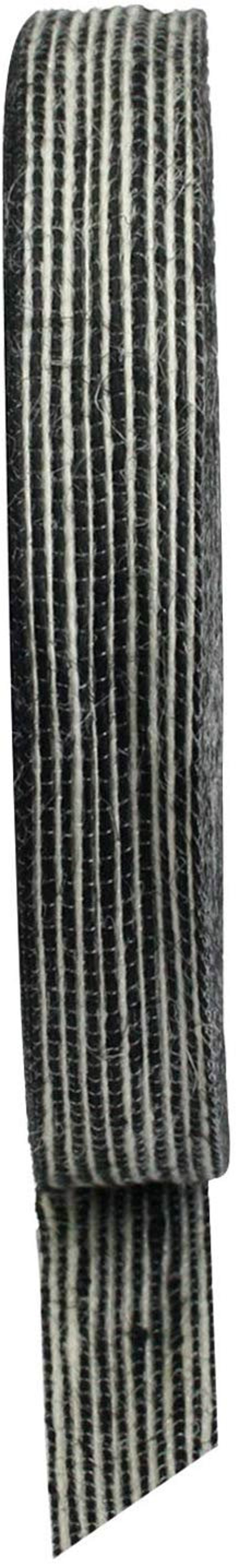 Black and White Stripes Burlap Jute Fabric Ribbon Roll Gift Wrap Present Decoration DIY Hessian Craft Supply 25 mm x 50 yards