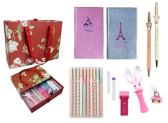 Ensemble de papeterie avec carnet Shimmer - ensembles-cadeaux de papeterie