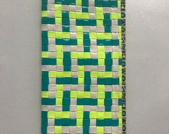 Duct Tape Woven Clutch Wallet