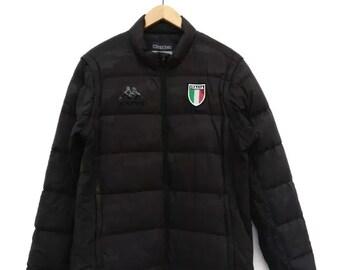 ad01e2c17e Vintage Kappa Camouflage Puffer Italy Down Jacket Bubble Xlarge