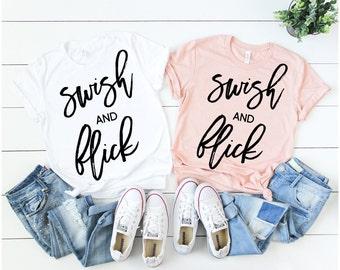 Swish and Flick Tee | Harry Potter Shirt | Harry Potter | Hogwarts | Hogwarts Shirt | Hermoine | Hermoine Shirt | Muggles
