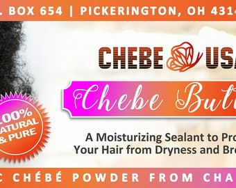 Chebe Butter - A whipped butter with authentic Chebe for those that are not able to use Chebe the traditional way - 4 oz