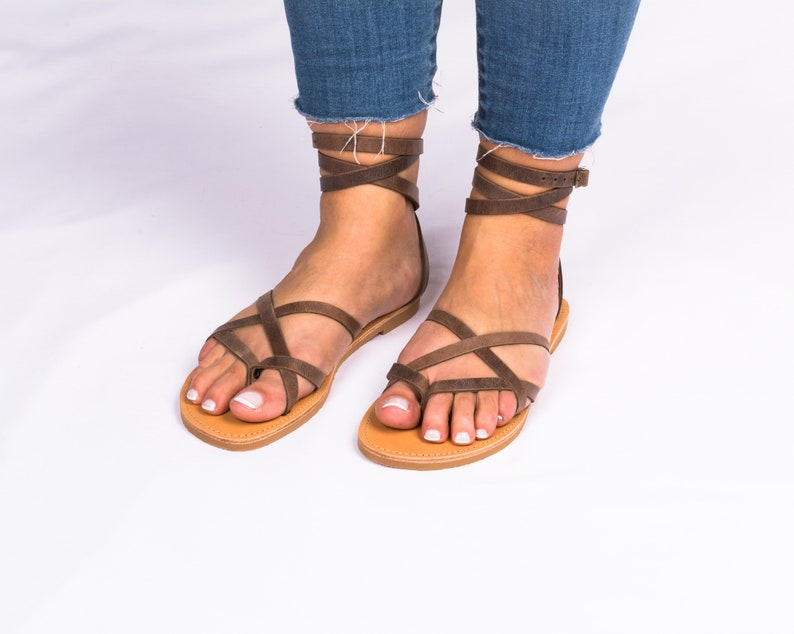 98c96a99be79bb Ancient greek sandal Gladiator sandals Womens leather sandals