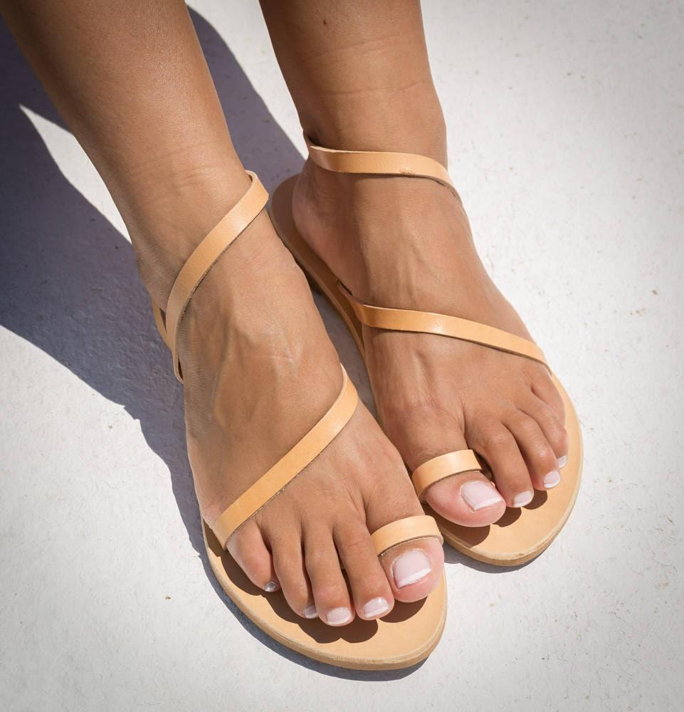 Ring Women Leather Minimalist Toe Sandals HandmadeEtsy 2eWIHED9Y