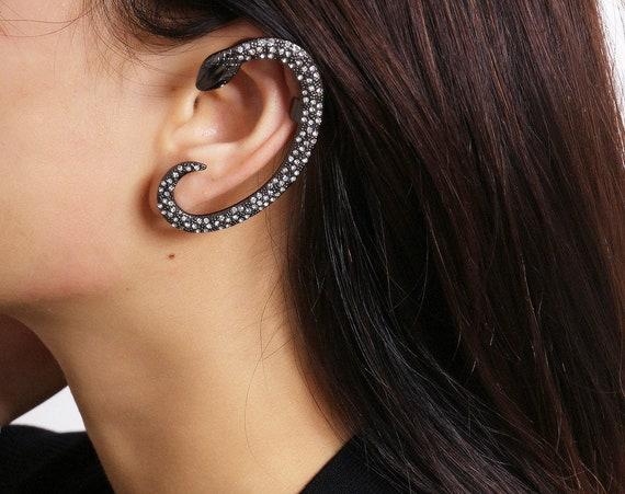 Snake Ear Cuff Climber Crawler Wrap Earring for Women