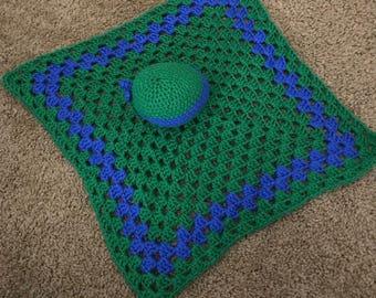 Crochet Ninja turtle lovey