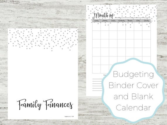 simplified budgeting bundle budgeting tool family budget etsy