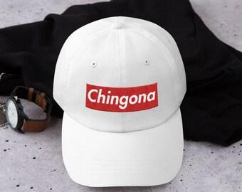 71c738161a355 Chingona Box Logo Dad hat