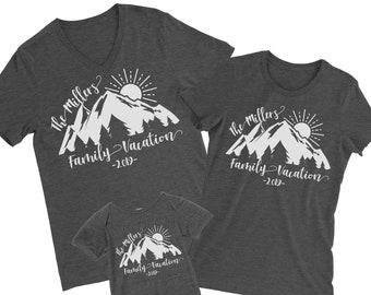 94e0432868b6 Family Outdoors Shirt. Nature Family Trip. Mountains Tshirt. Matching  Vacation Tees.