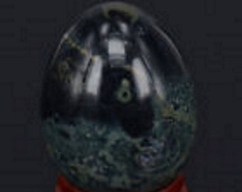 Kambaba Jasper Egg 34 x44 mm