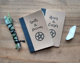 Witchcraft books etsy spell books notebooks spells potions hexes curses witchcraft notebook magic spells witchy stuff witches pagan wicca fandeluxe Gallery