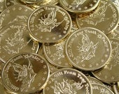 20 Golden Tooth Fairy Coins by Artist Dawn Duane