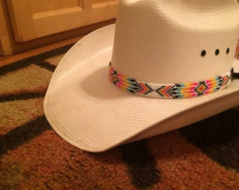 Loom Beaded Hat Band