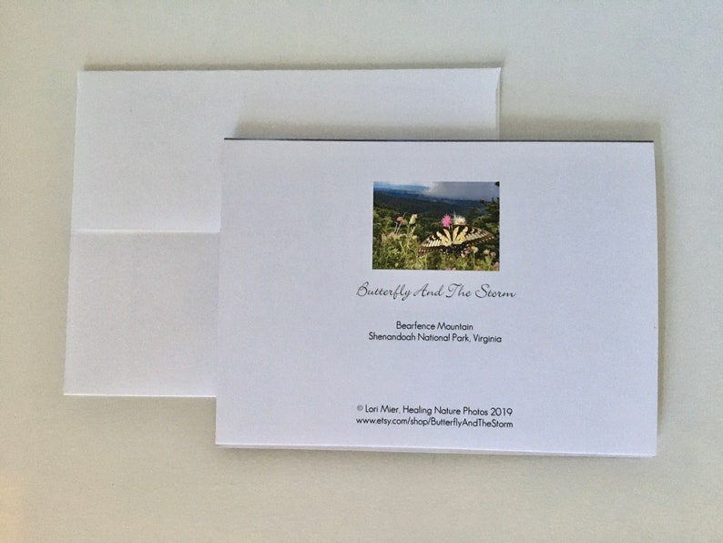 letter writing Sunrise Fall Colors healing nature photography Autumn mountain landscape photography Blank Greeting Cards