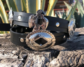 Concho Belt Buckle
