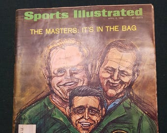 Vintage Sports Illustrated - April 4,1966 The Masters: It's In The Bag