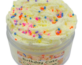 Birthday Cake Cookie Dough Scented Cloud Cream Slime