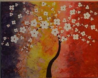Modern Art Flower Painting1