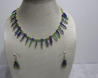 Seahawk handmade jewelry set