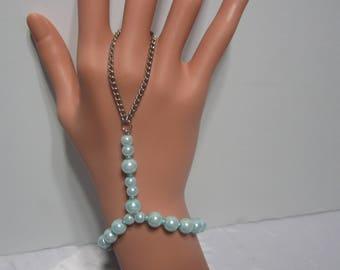 Handmade  Baby Blue Slave  Bracelet