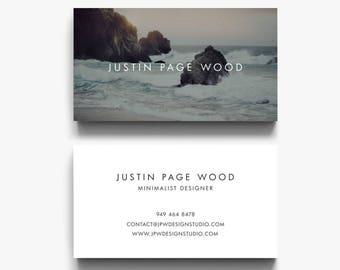 Photographer Business Card Design, Modern Business Card, Business Card Templates, Black and White Business Cards, Classic Business Cards