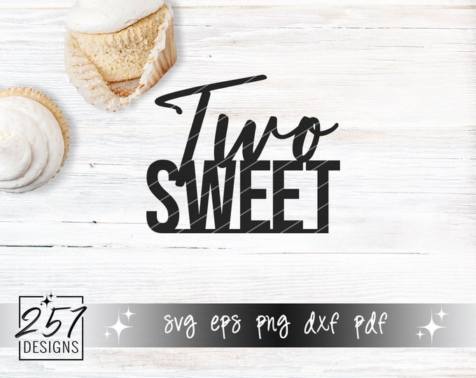 Two Sweet SVG