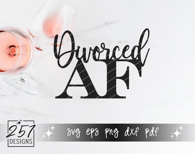 Divorced AF SVG