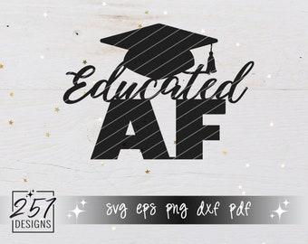 Educated AF SVG