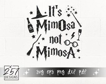 It's MimOsa Not MimosA SVG
