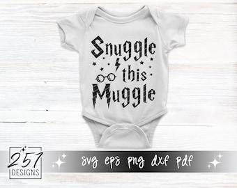 Snuggle This Muggle SVG