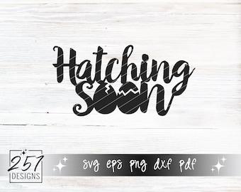 Hatching Soon SVG