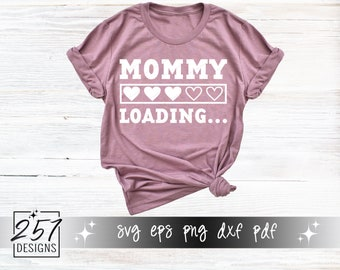 Mommy Loading SVG