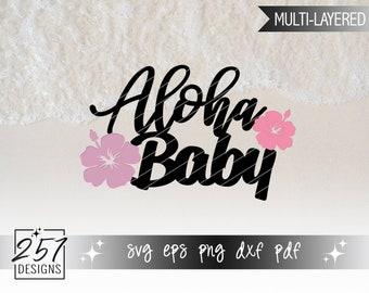 Aloha Baby SVG