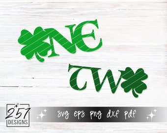 Clover ONE & TWO SVG