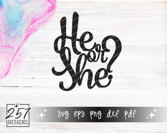 He Or She SVG