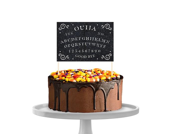 Ouija Board Cake Topper