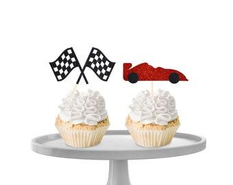 Racecar Cupcake Toppers!