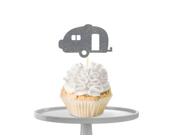 Camper Cupcake Toppers