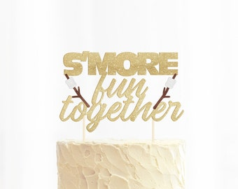 S'more Fun Together Cake Topper