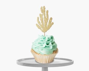 Seaweed Cupcake Toppers
