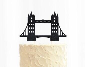 London Bridge Cake Topper