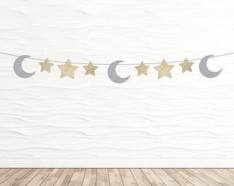 Moon & Stars Banner