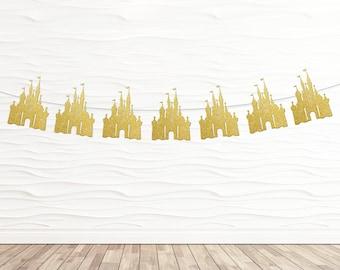 Disney Inspired Castle Banner