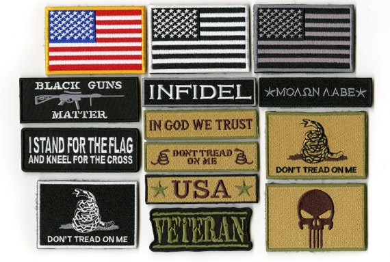 I Don/'t Kneel Flag Shirt Support American USA Military America DONT TREAD ON ME